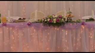 свадьба украшение регистраци оформление церемонии .f4v