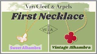 VCA Entry Necklaces: VINTAGE A…