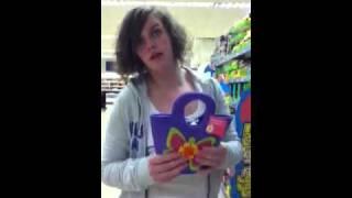 The purple felt bag Thumbnail