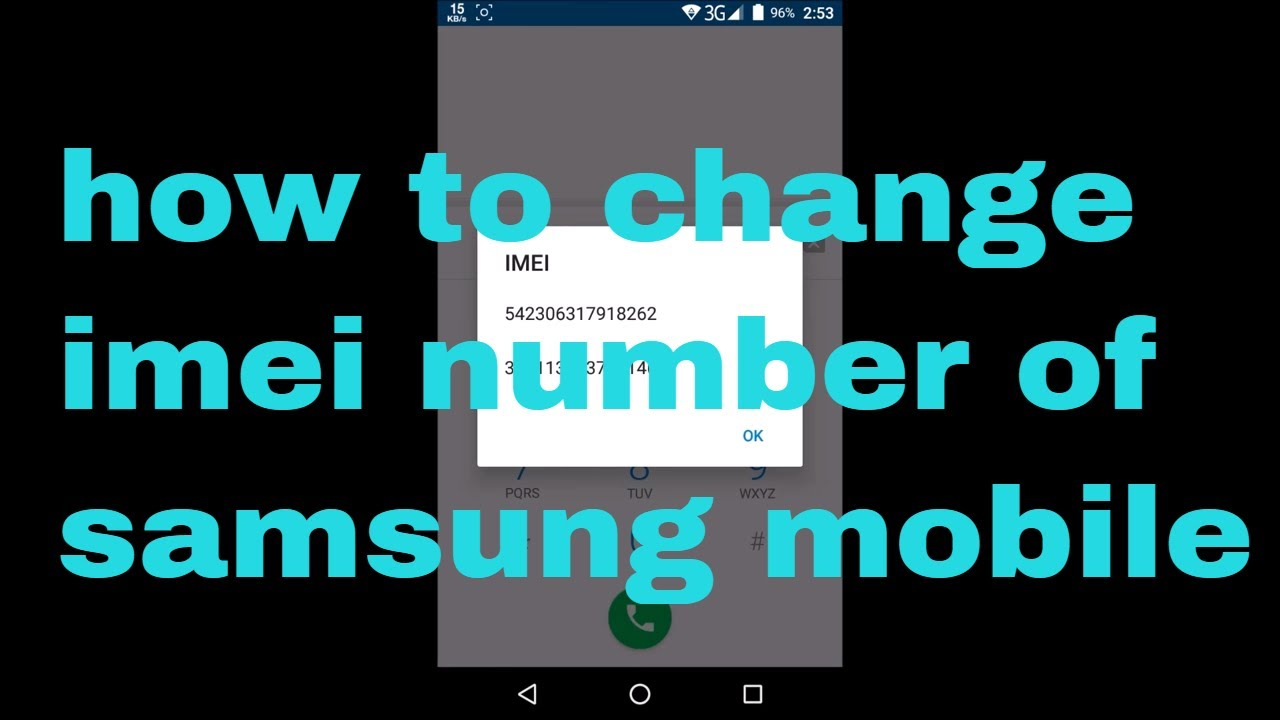 how to change imei number of Samsung mobile 2019 | Tomal's Guide