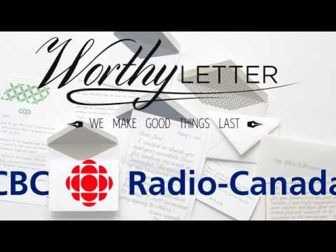 CBC/Radio-Canada Interview WorthyLetter.com