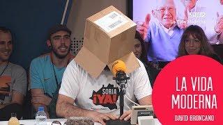 Vicente del Bosque interrume a Ignatius in a box #LaVidaModerna