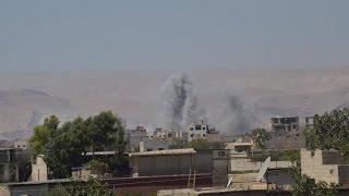 قصف على ريف درعا الشرقي والغربي يوقع قتلى وجرحى