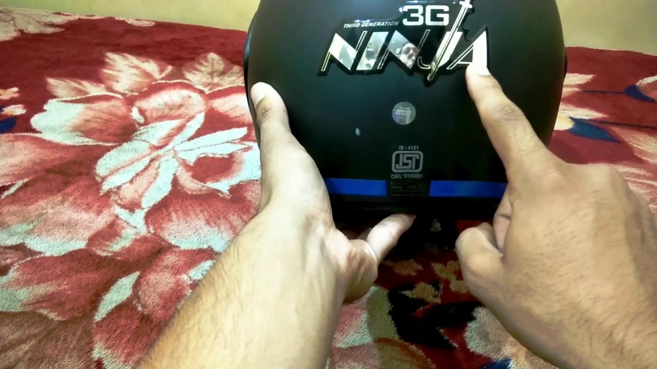 Studds Shifter Helmet Review Youtube: Studds Ninja 3g Double Visor. Helmet Review.