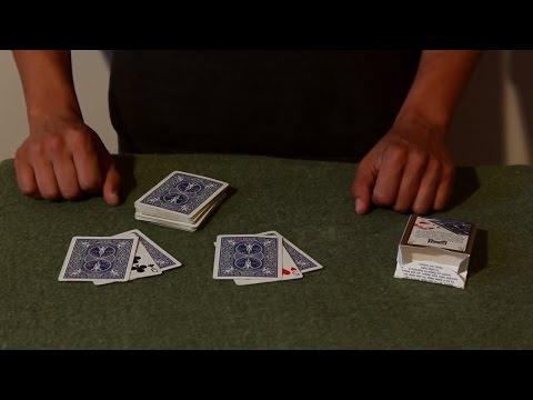 تعلم العاب الخفة # 460 الورقتين المحاصرتين ... magic trick revealed