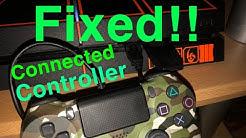 PS4 SAFE MODE Controller Won't Connect FIX!