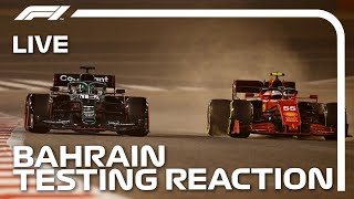 LIVE: Pre-Season Testing Reaction