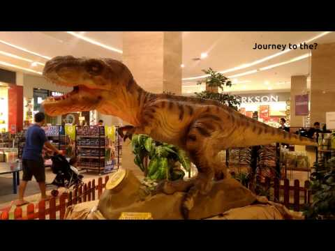 Baby T-Rex Dinosaurs Found in Mall