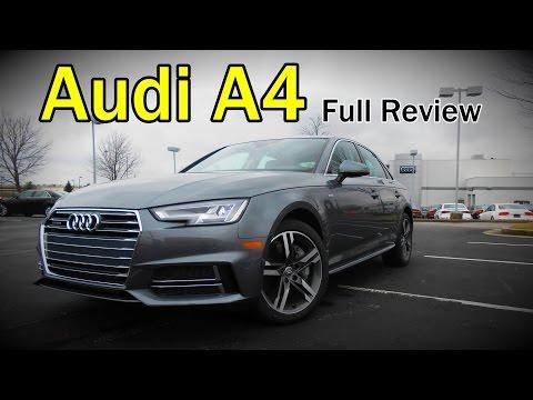2017 Audi A4: Full Review | Ultra, Premium, Premium Plus & Prestige