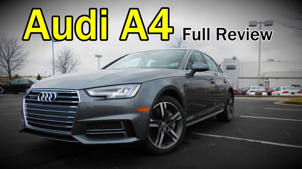 2017 Audi A4 Full Review Ultra Premium Premium Plus