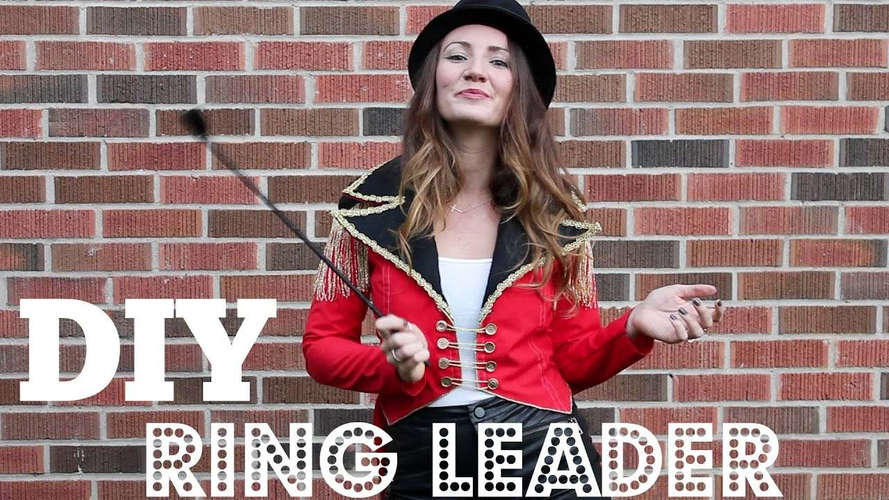 DIY Ringleader Costume  sc 1 st  YouTube & DIY Ringleader Costume - YouTube