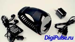 видео GPS трекер-часы DA-690