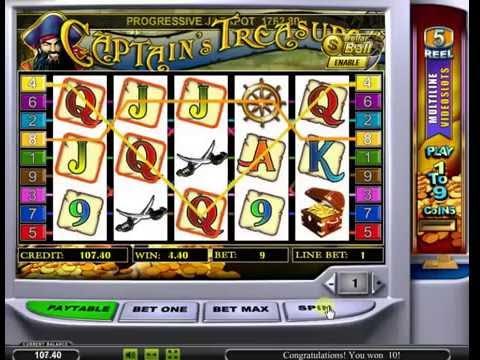 Игровой автомат Captain's Treasure от Playtech