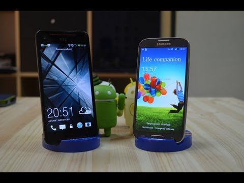 HTC Butterfly S vs Samsung Galaxy S4 - Comparison