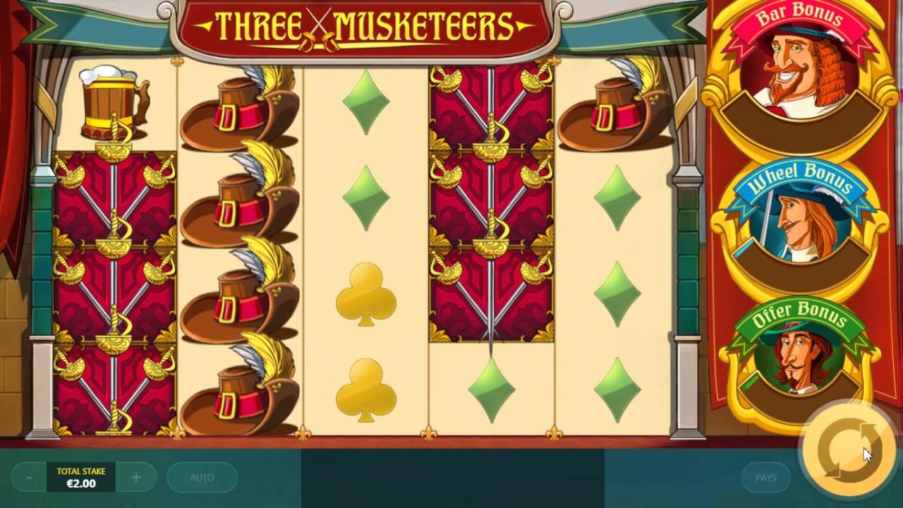 three игровой автомат