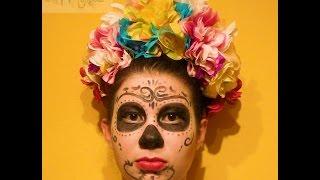 DIY Día de los muertos, maquillaje de la Catrina Mexicana!!!