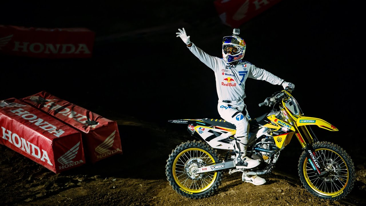 James Stewart 2016 Supercross Return Tribute HD