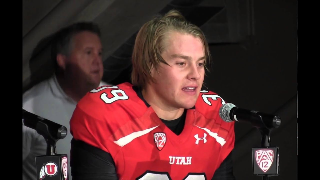 Week 1 University of Utah player of the game Andy Phillips
