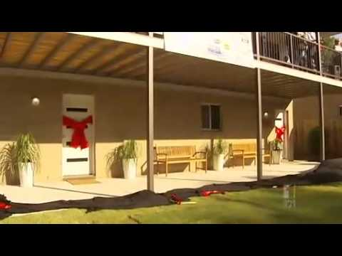 Taufa family gifted new home
