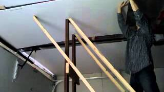 How to lift drywall by yourself