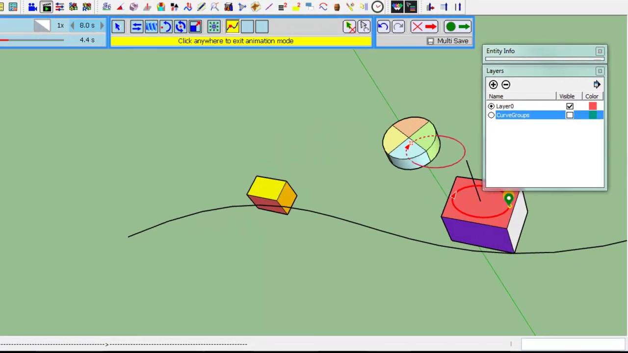 Animator - Tutorial - Movement Along Path - Overview by Fredosix