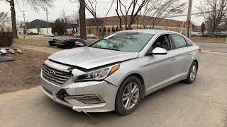 Авто из США . 2015 Hyundai Sonata за 3550$ в Украину.