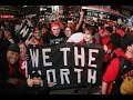 Raptors & State Warriors fans pack the Oracle Arena in Oakland for game six of the NBA Finals