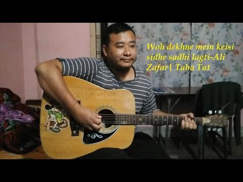 Woh Dekhne Mein Seedhi Saadhi Lagti|Ali Zafar|By-Taba Tat