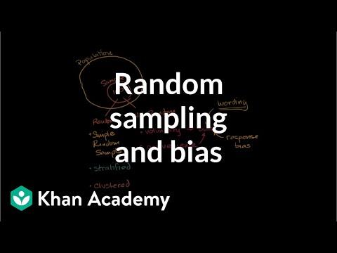 Techniques for random sampling and avoiding bias