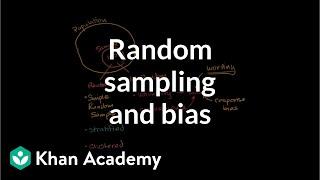 Techniques for random sampling and avoiding bias | Study design | AP Statistics | Khan Academy