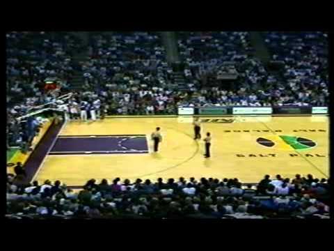 1990-91 Sixers vs. Jazz (1/9)