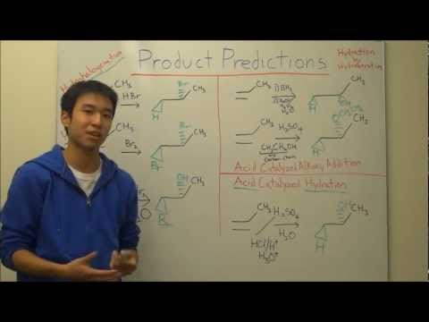Alkene Addition Reactions Made Easy! - Product Prediction Tips! - Organic Chemistry