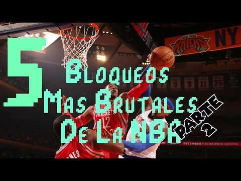 Top 5 Bloqueos Mas Brutales De La NBA (parte 2)