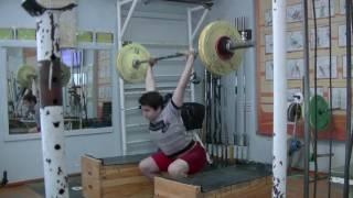 Мезенцев Алексей, 14 лет, вк 77 На гудь в сед+ уход 60 кг