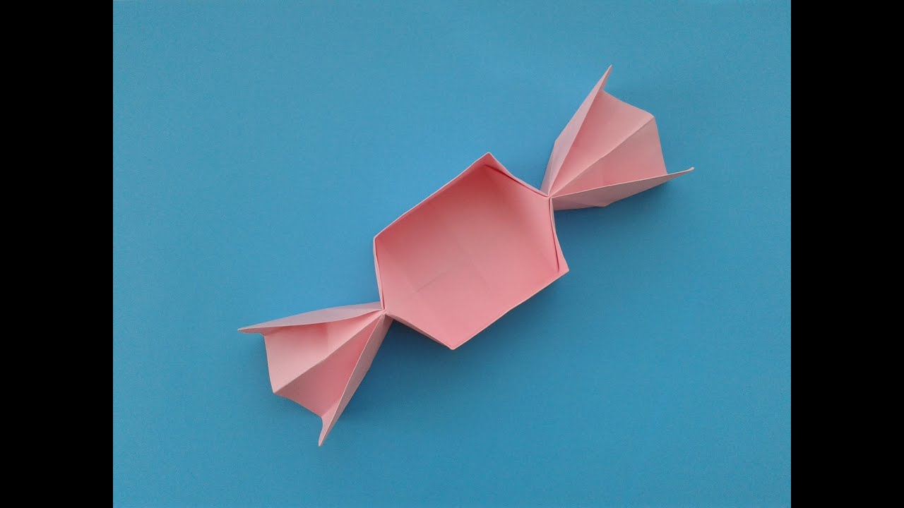 origami candy box - YouTube - photo#18