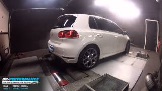 Reprogrammation Moteur VW Golf 6 GTI Edition 35th 2.0 TFSI 235hp @ 307hp par BR-Performance