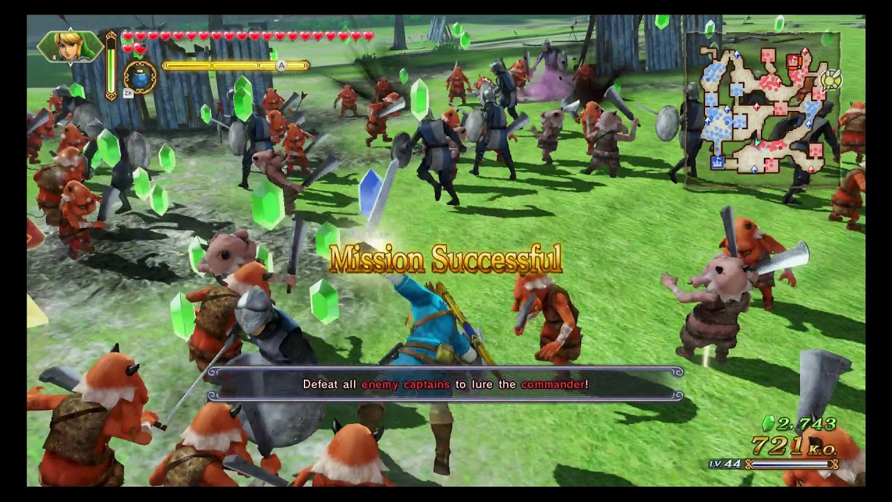 Hyrule Warriors Definitive Edition Adventure Map Square G8 A Rank Youtube