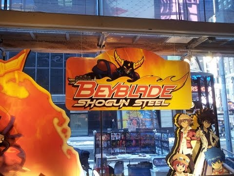 Beyblade Hunting Toys R Us Times Square New York