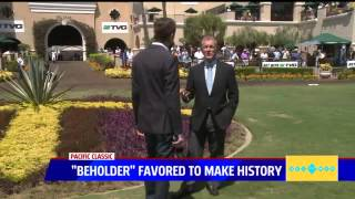 Beholder becomes 1st female thoroughbred to win Del Mar's $1M TVG Pacific Classic
