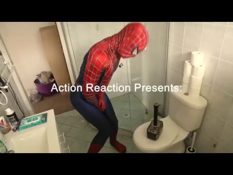 When Thor playing prank with Spiderman - FUNNY VIDEO