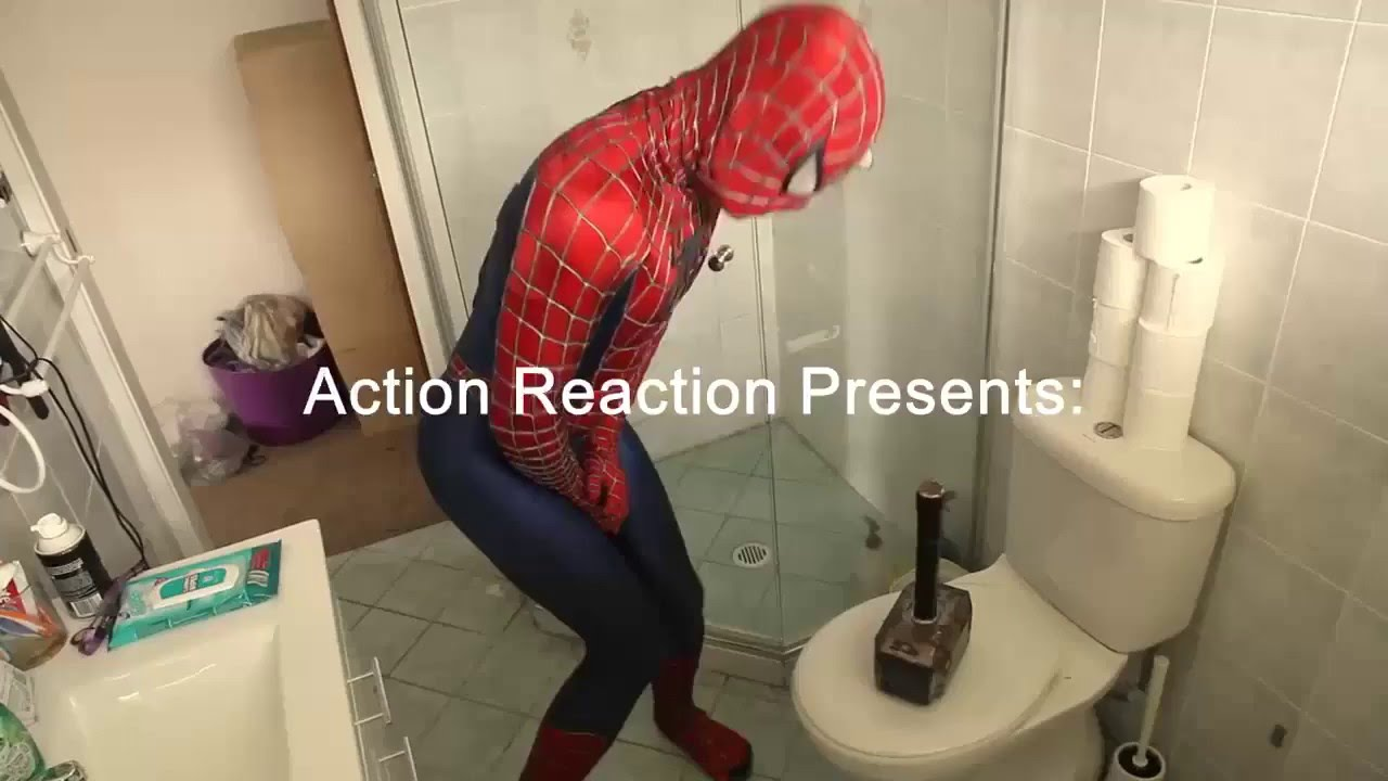 When Thor Playing Prank With Spiderman Funny Video Youtube