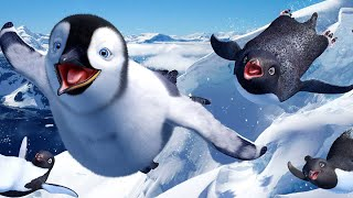 Happy Feet All Cutscenes | Full Game Movie (Wii, PS2, PC, Gamecube)