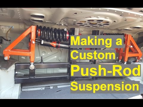 How to Build a Properly Fast Track Car - Part 4 (Push Rod Suspension)