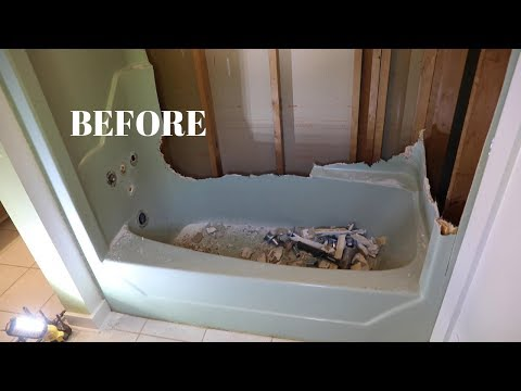 Replacing My Old Fiberglass Bathtub With An American Standard Passage Alcove Tub - Thrift Diving