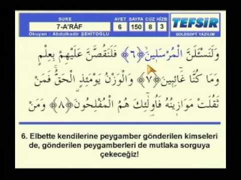 Fatih Çollak - 168.Sayfa - A'râf Suresi (150-155)