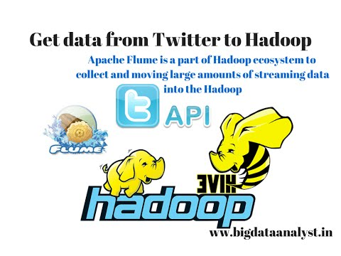 Apache Flume: How to Get Twitter data ? Dump twitter data to Hadoop