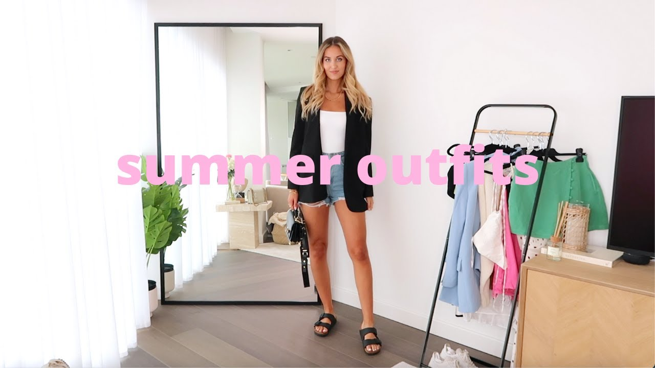 SUMMER 2021 OUTFIT IDEAS | CASUAL & DRESSY LOOKBOOK