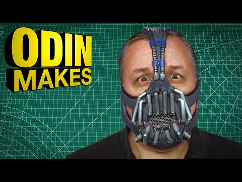 Odin Makes: Bane's mask from the Dark Knight Rises