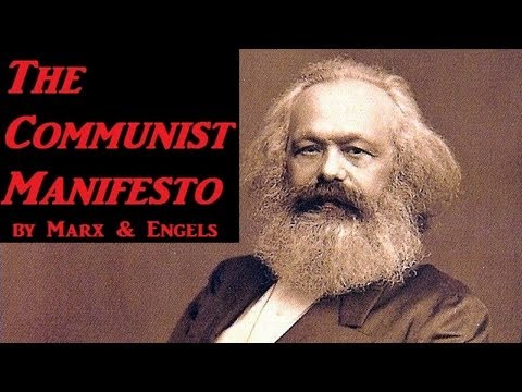 The Communist Manifesto - FULL Audio Book - by Karl Marx & F