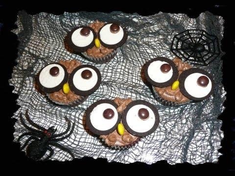 "Halloween-Special 2012- ""Eulen Cupcakes"""